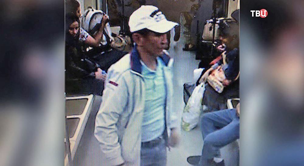 Подозреваемый в убийстве полицейского в метро