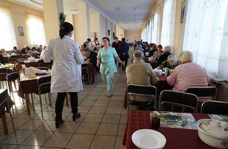 Столовая санатория