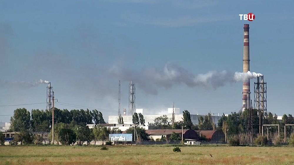 Завод в Армянске (Крым)