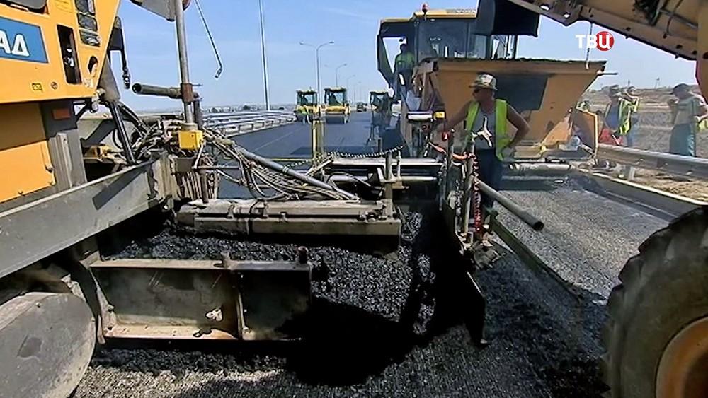 """Строительство федеральной трассы """"Таврида"""" в Крыму"""