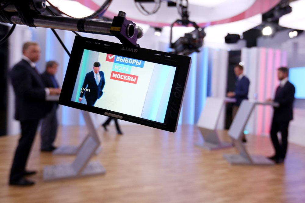 Предвыборные теледебаты кандидатов на пост мэра столицы