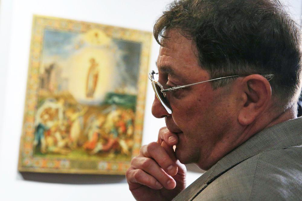 """Выставка икон """"Предивное художество"""" из собрания Григория Лепса"""
