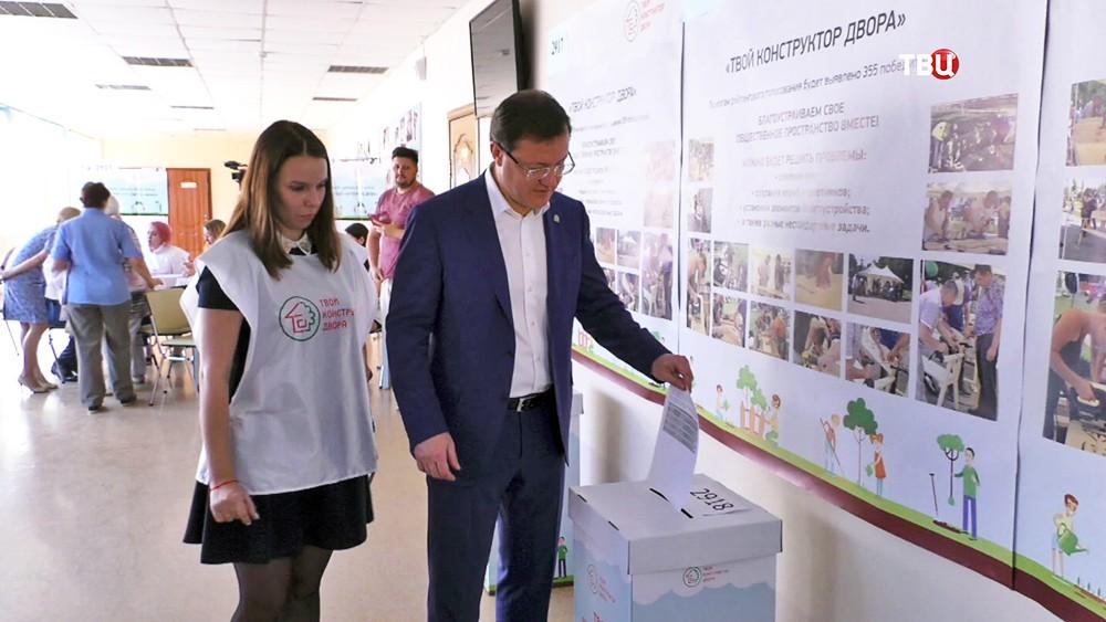 Врио губернатора Самарской области Дмитрий Азаров