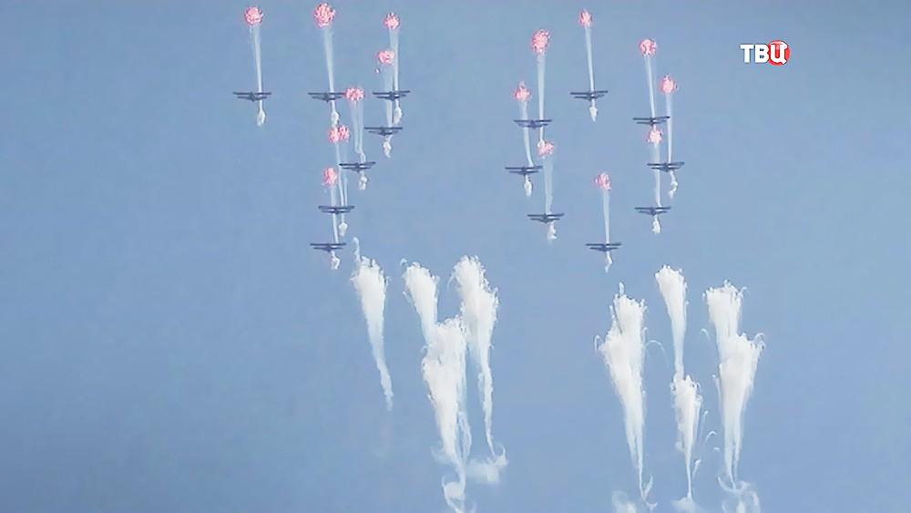 Военный парад в честь 70-летия основания КНДР