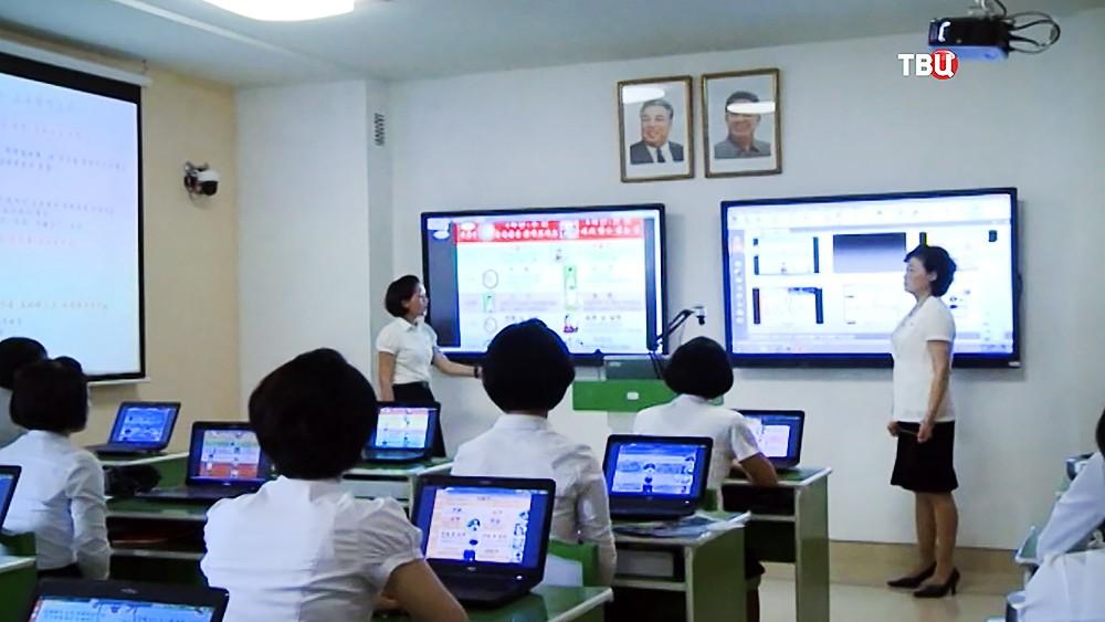 Школа в КНДР