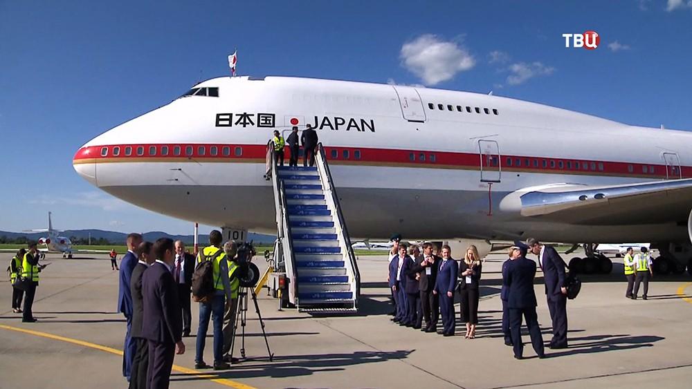 Спецборт президента Японии