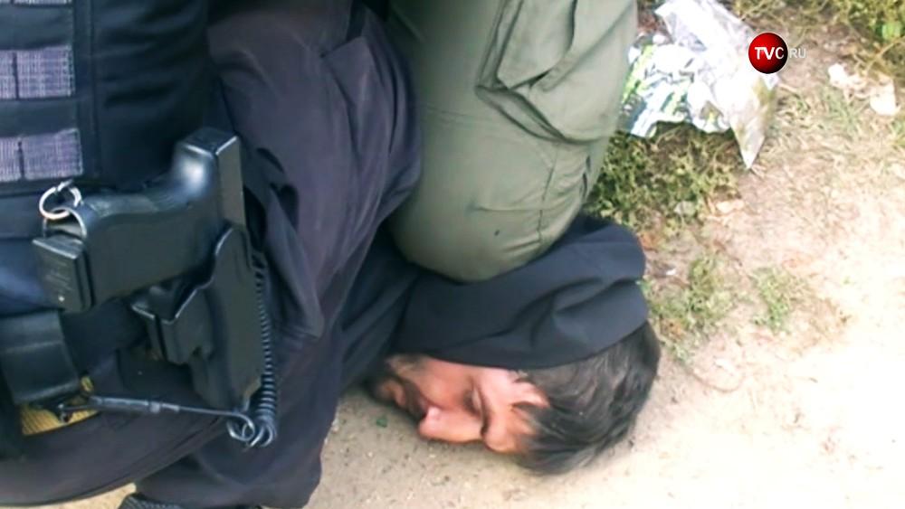 Спецоперация ФСБ по задержанию террориста