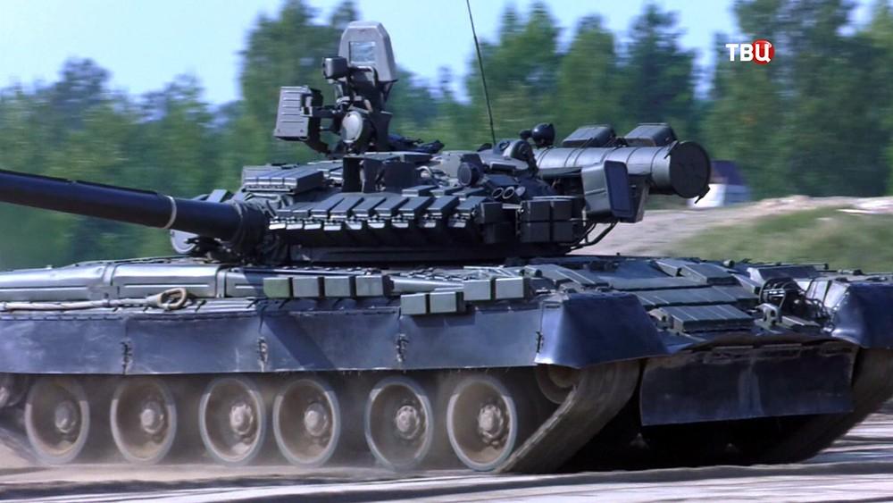 Танковые учения
