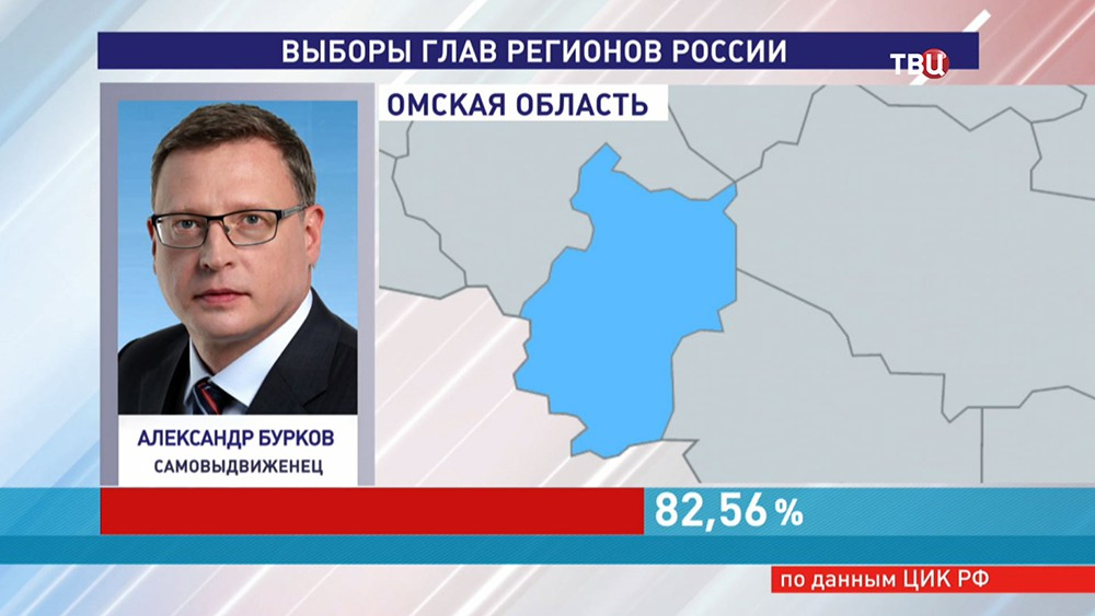 Глава Омской области Александр Бурков