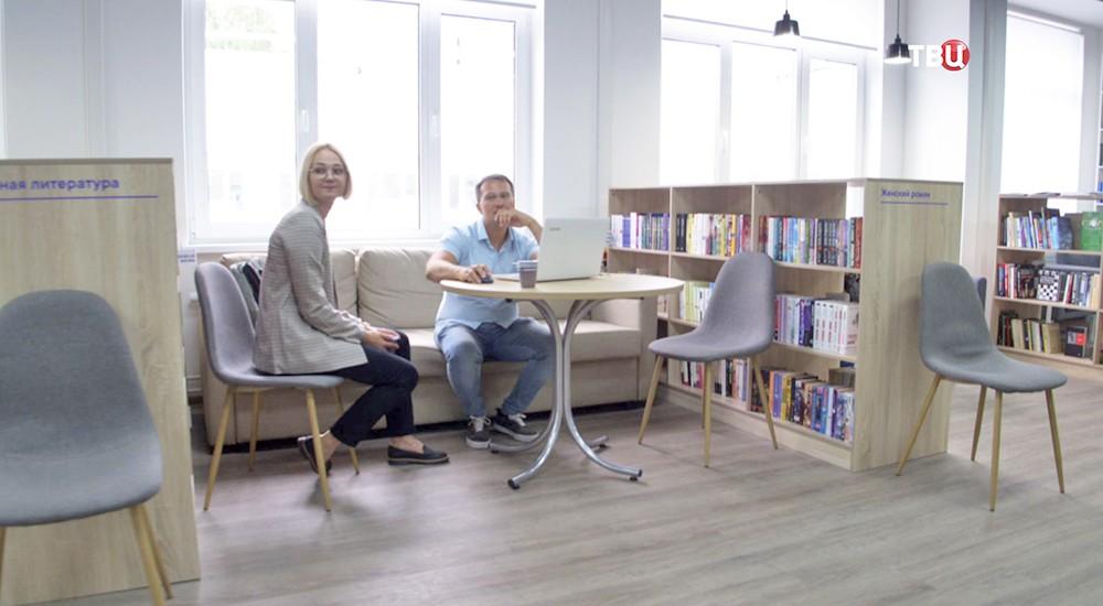 Библиотека имени Ахматовой