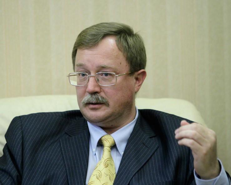 Директор департамента МИД по вопросам новых вызовов и угроз Илья Рогачев
