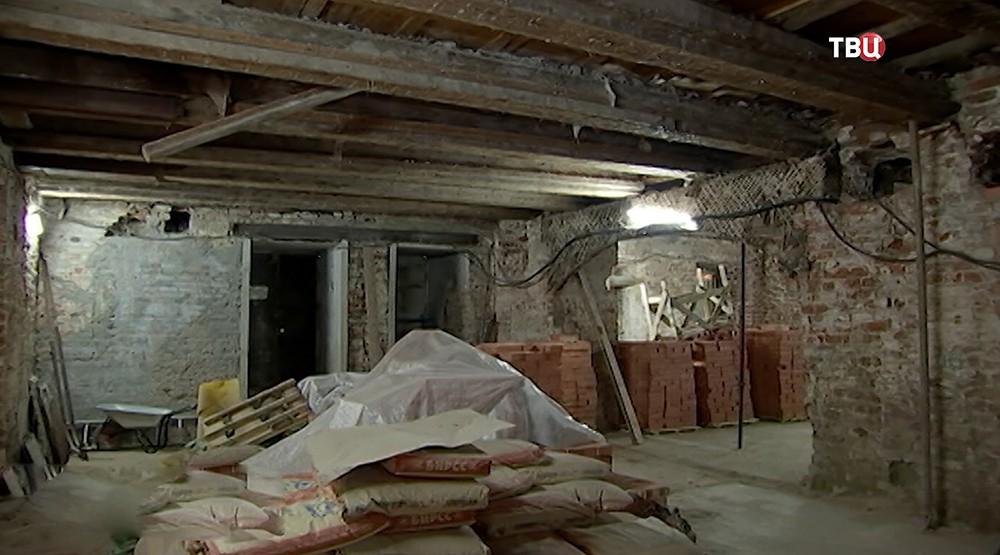 Реставрация Московской Межевой канцелярии