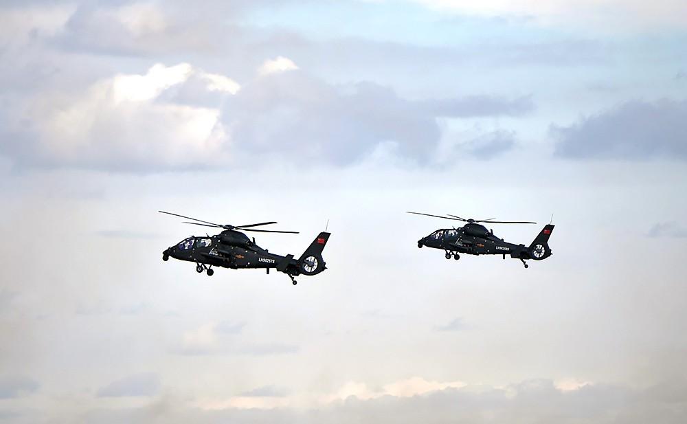 Вертолеты ВВС КНР