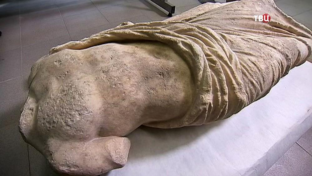 Античная статуя найденная в Крыму