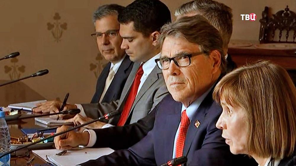 Министр энергетики США Рик Перри
