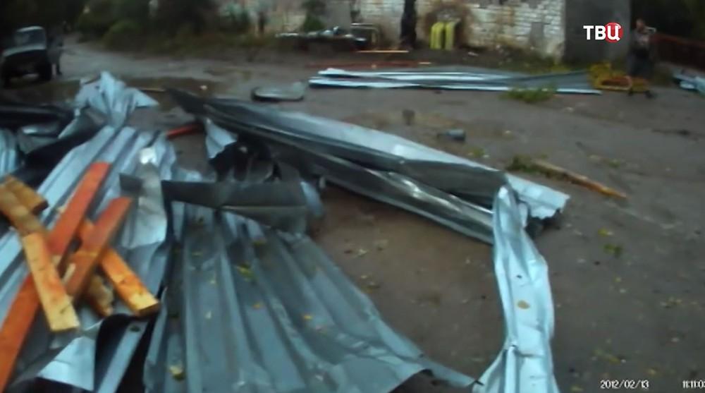 Последствия урагана в Пермском крае