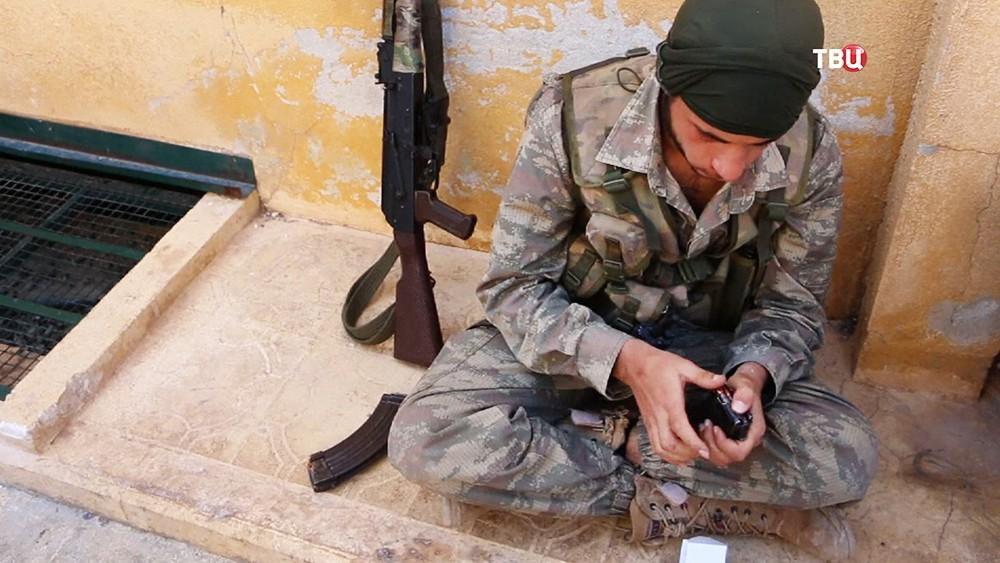 Представители вооруженной сирийской оппозиции