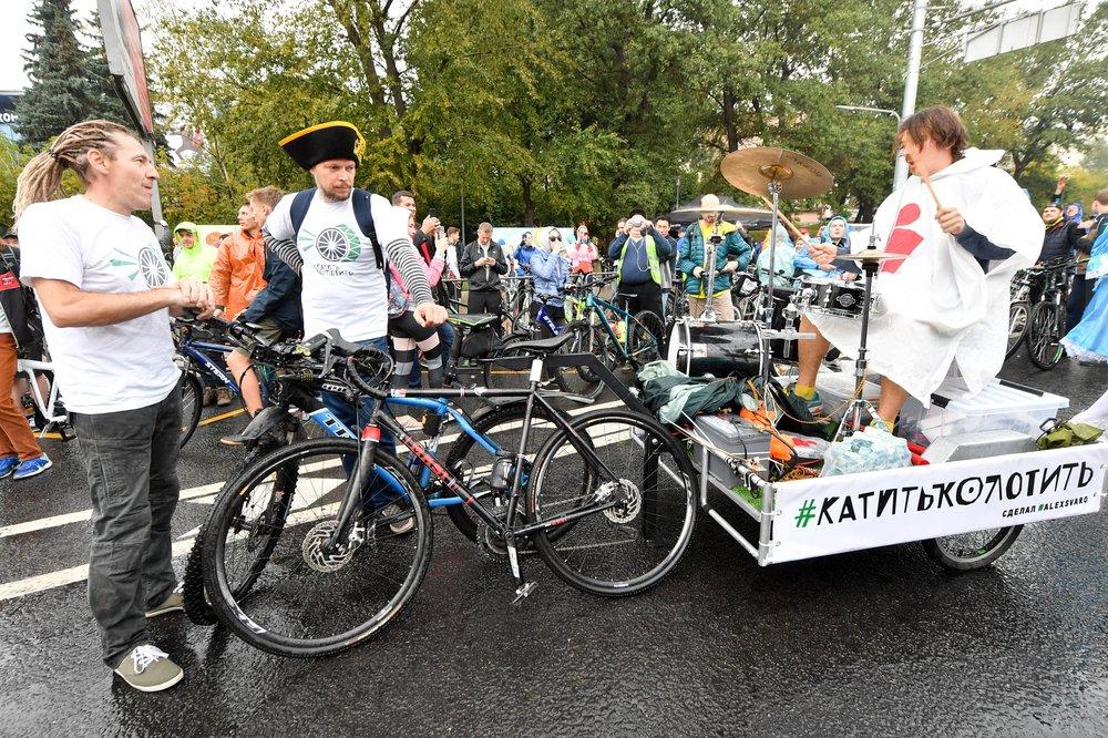 Осенний велопарад