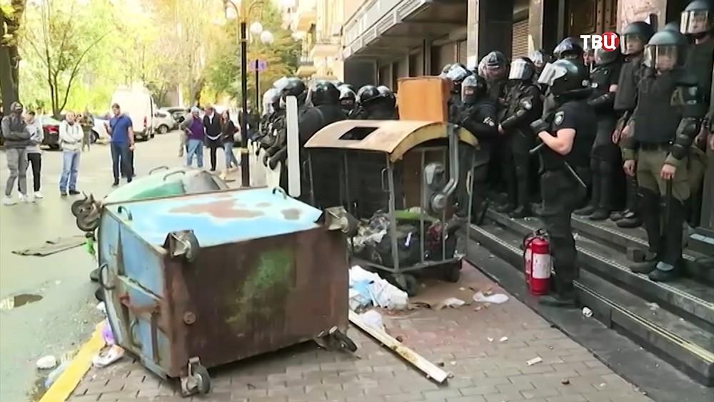 Потасовка у здания Генпрокуратуры в Киеве