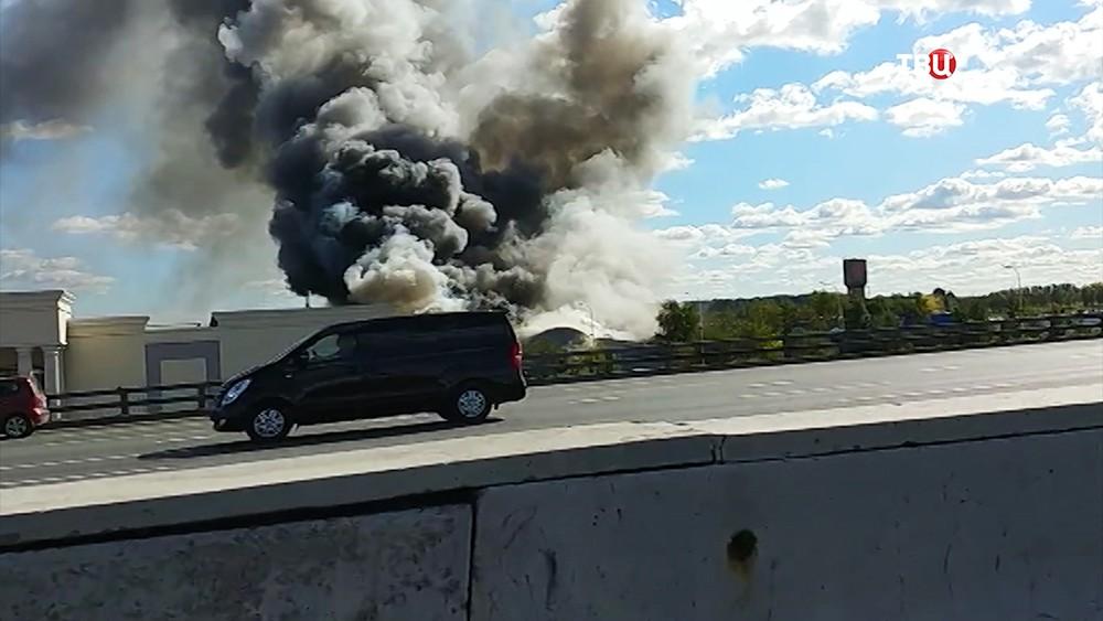 Пожар склада