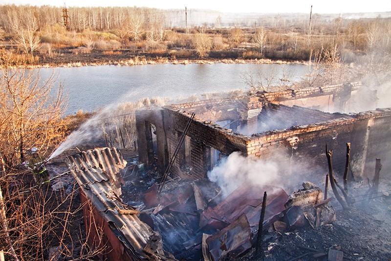 Пожары в Оренбургской области