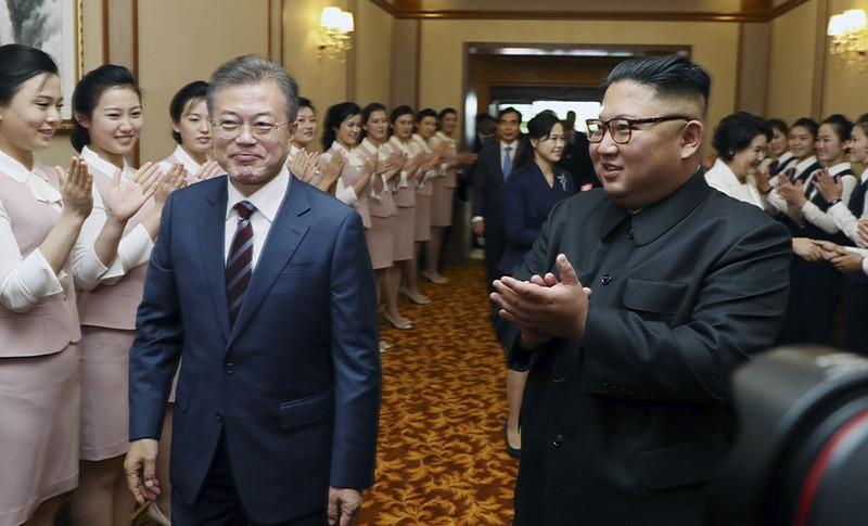 Ким Чен Ына и Мун Чжэ Ин. Переговоры лидеров КНДР и Южной Кореи