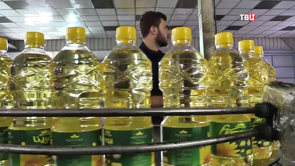 Производство растительного масла