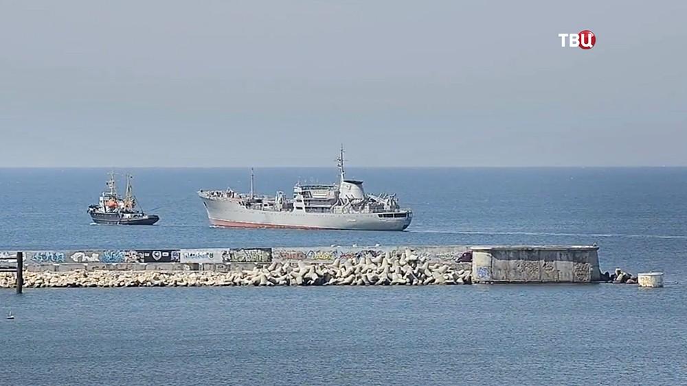 Украинские корабли в Чёрном море