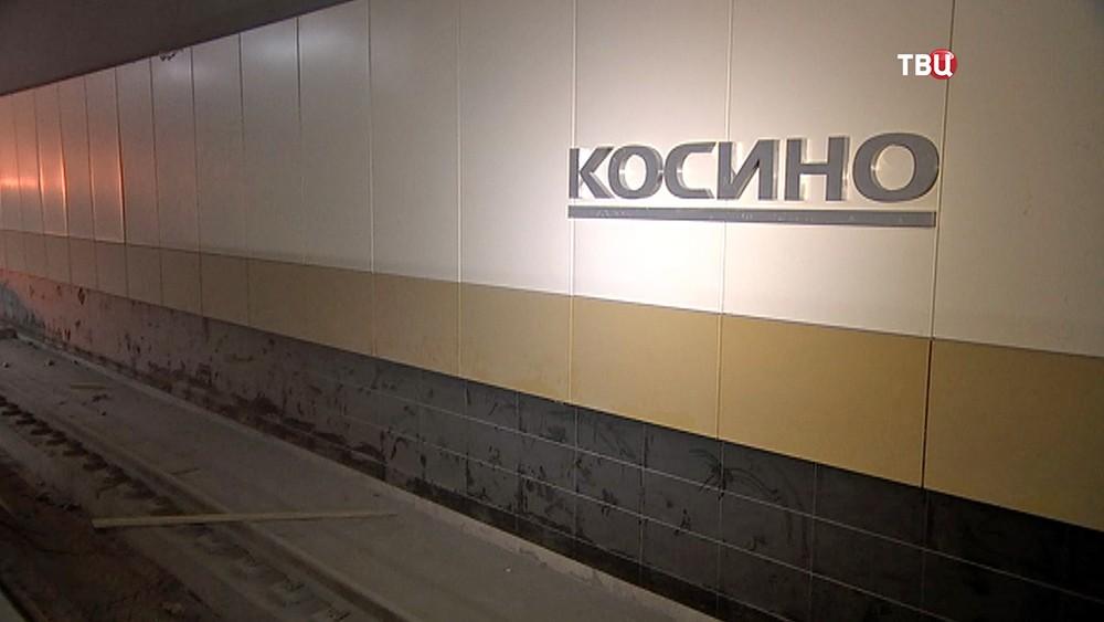 """Станция метро """"Косино"""""""