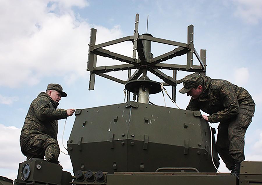 Войска радиоэлектронной борьбы (РЭБ)