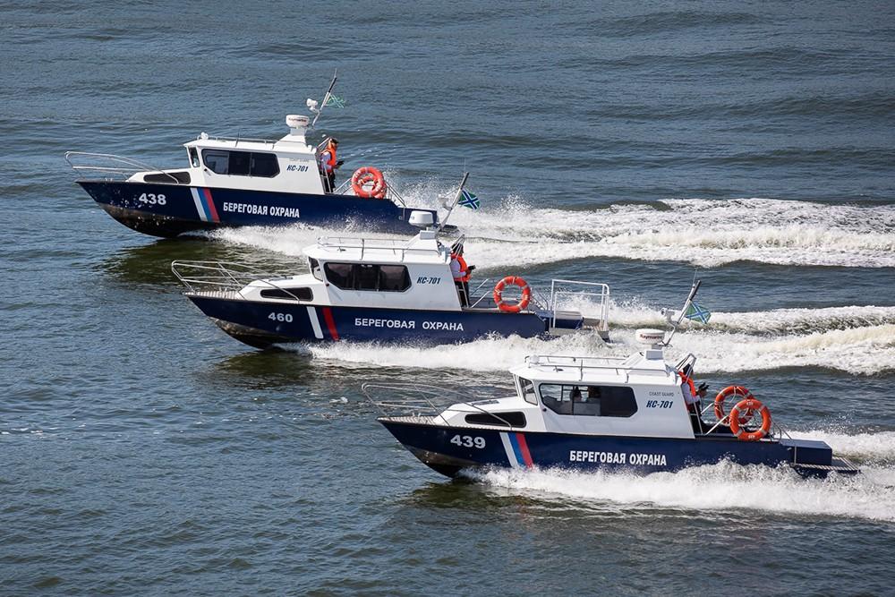 Катера Береговой охраны России