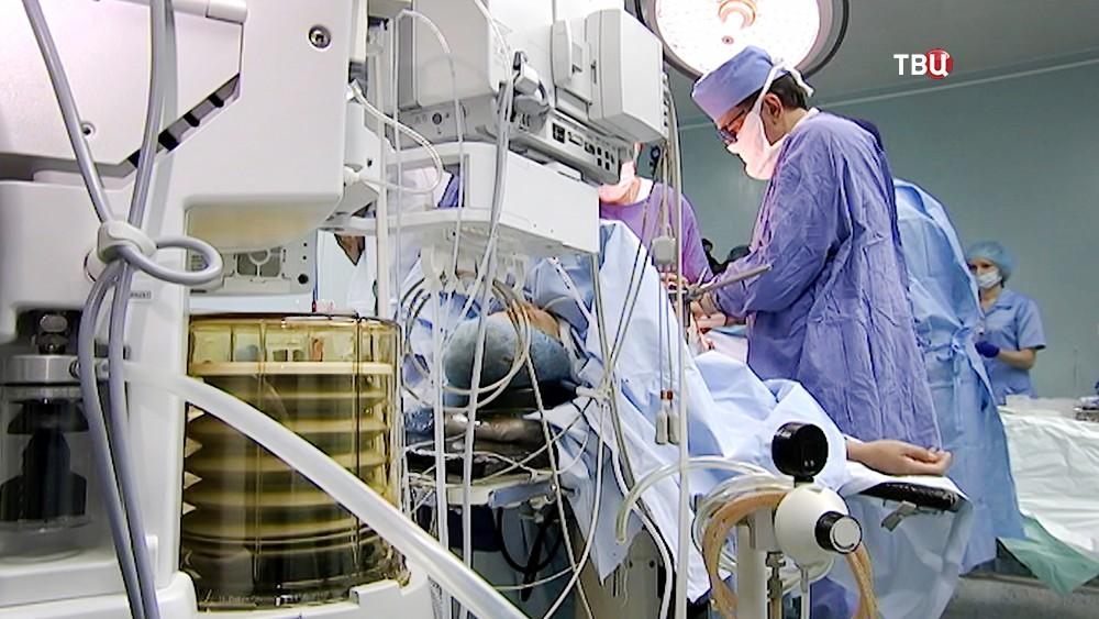 Операционная в онкоцентре