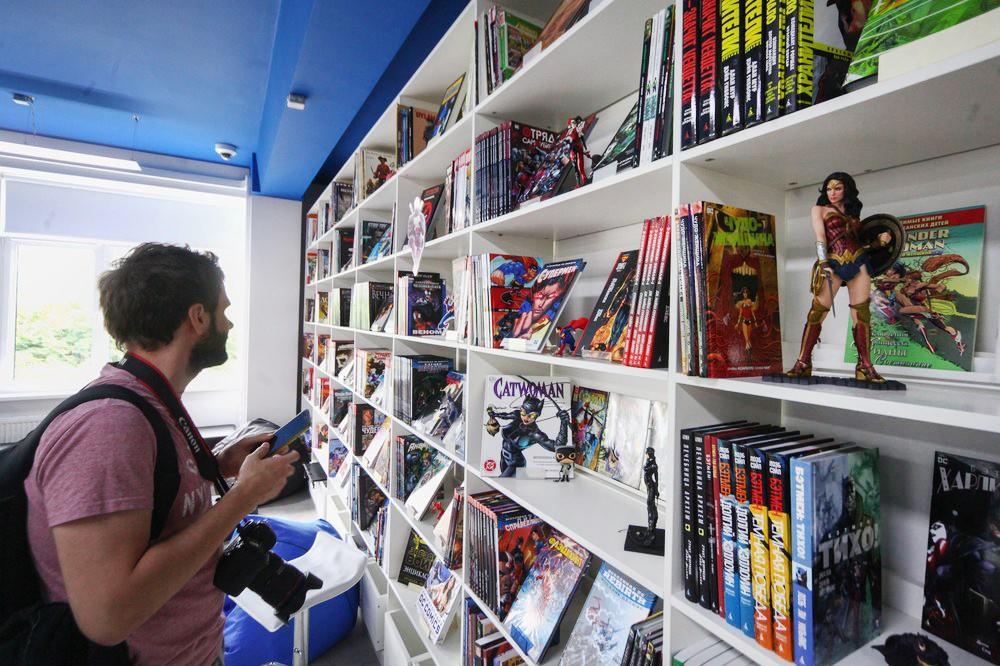 Центр комиксов в библиотеке имени Ахматовой