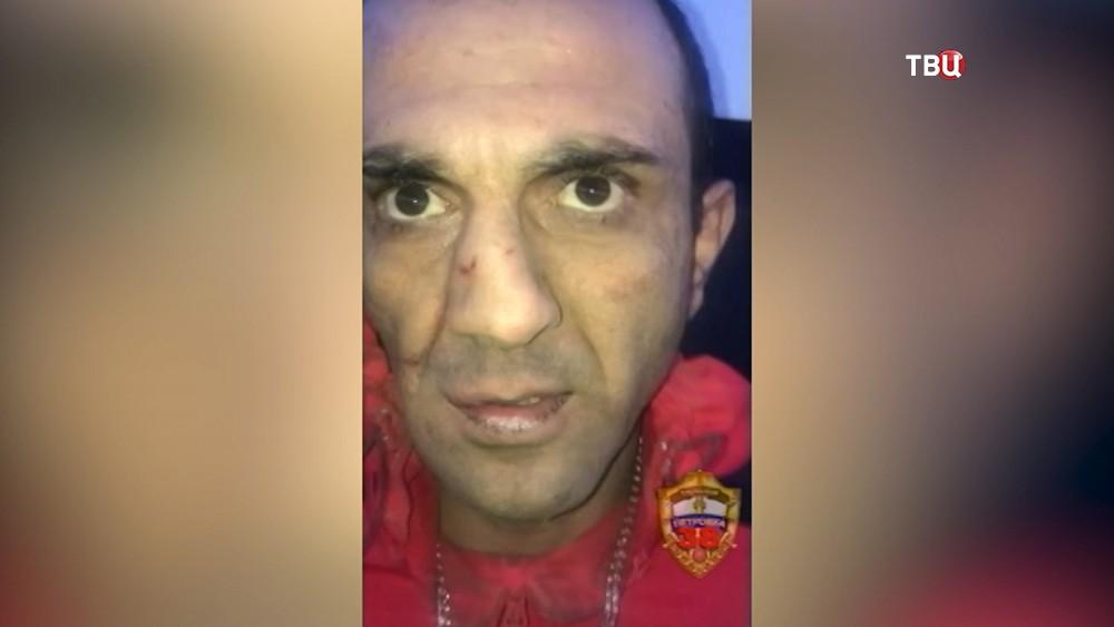Задержанный за кражу терминала оплаты