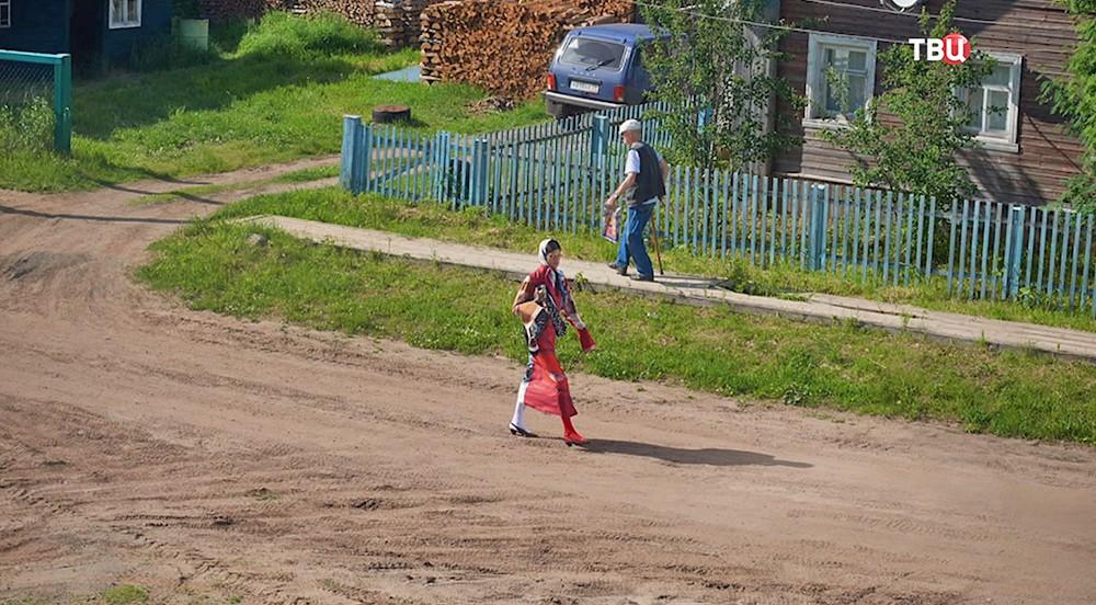 Фотосессия в деревне под Архангельском