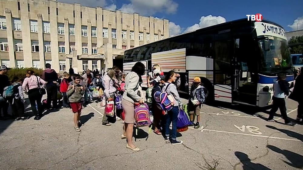 Дети вернулись в Армянск