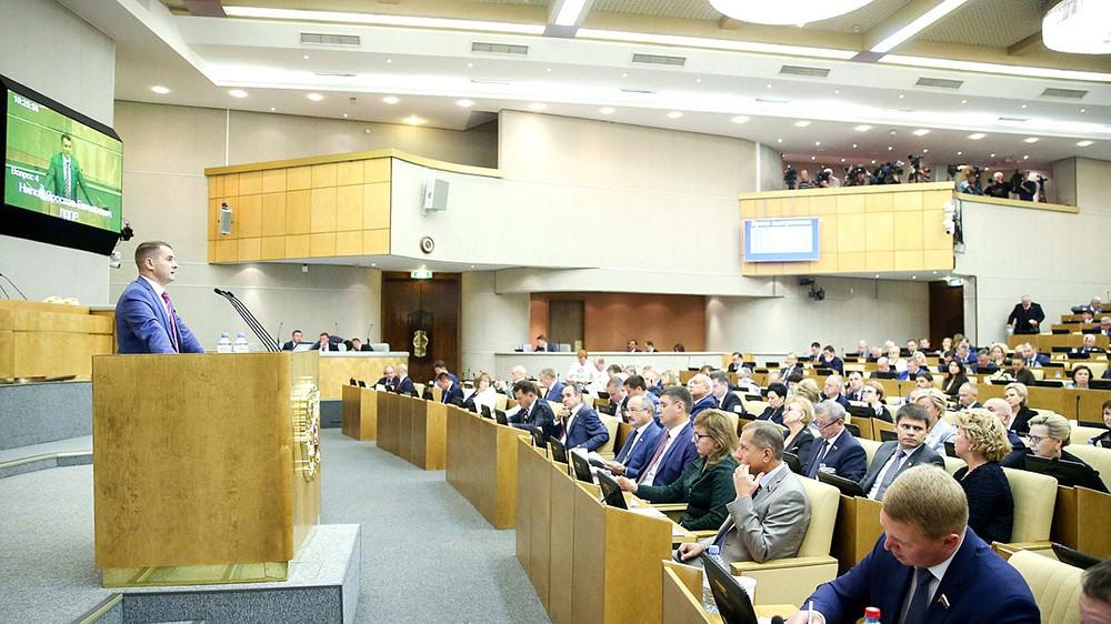 Председатель Комитета по труду, социальной политике и делам ветеранов Ярослав Нилов