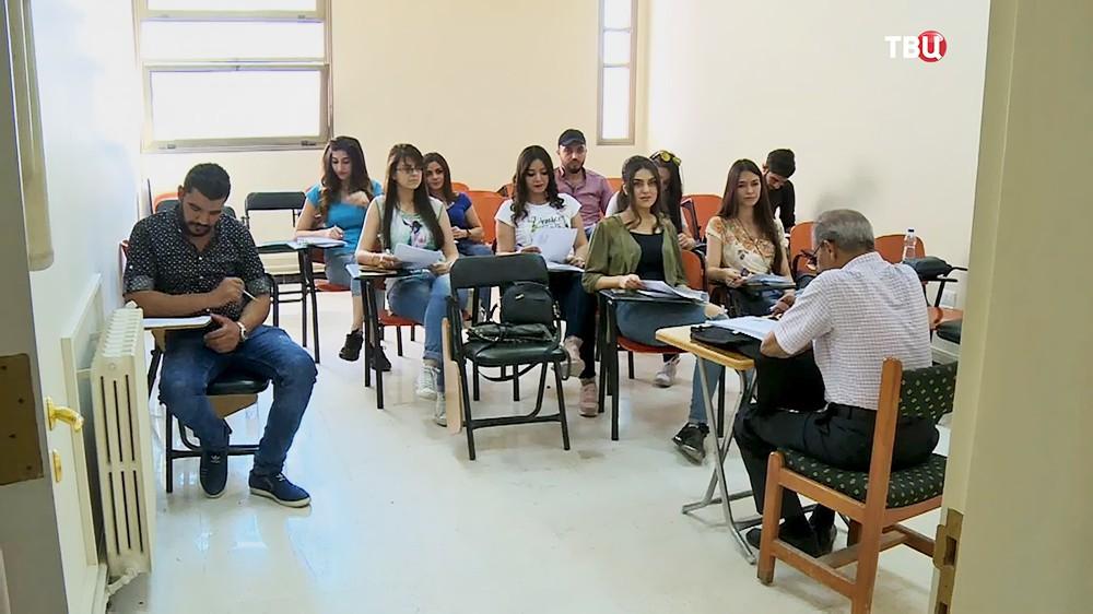 Университет в Сирии