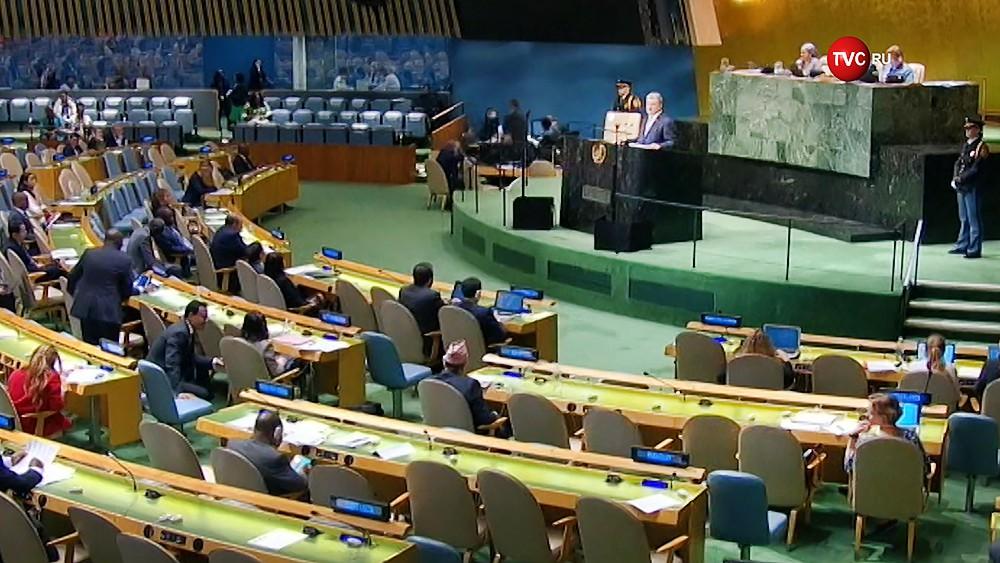 Пётр Порошенко на Генассамблее ООН