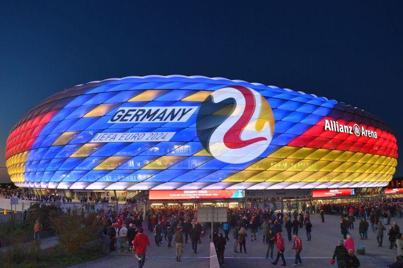 Германия примет чемпионат Европы по футболу в 2024 г.