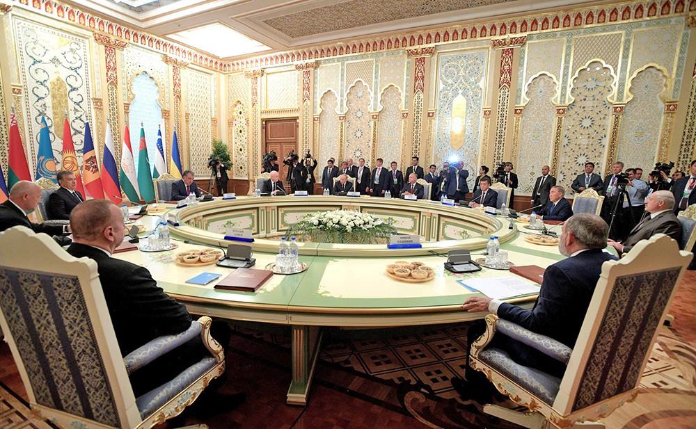 Встреча глав государств СНГ