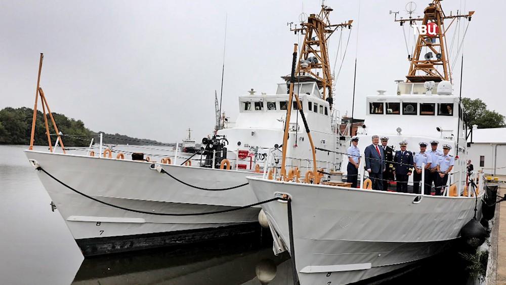Катера береговой охраны США, переданные Украине