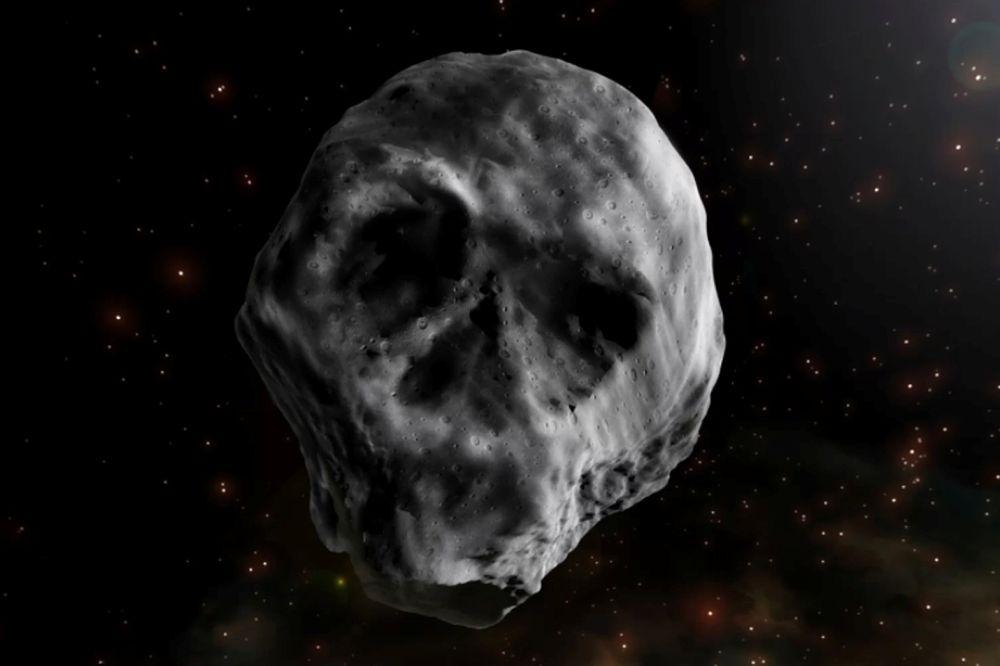 """Астероид """"Комета смерти"""" в представлении художника"""
