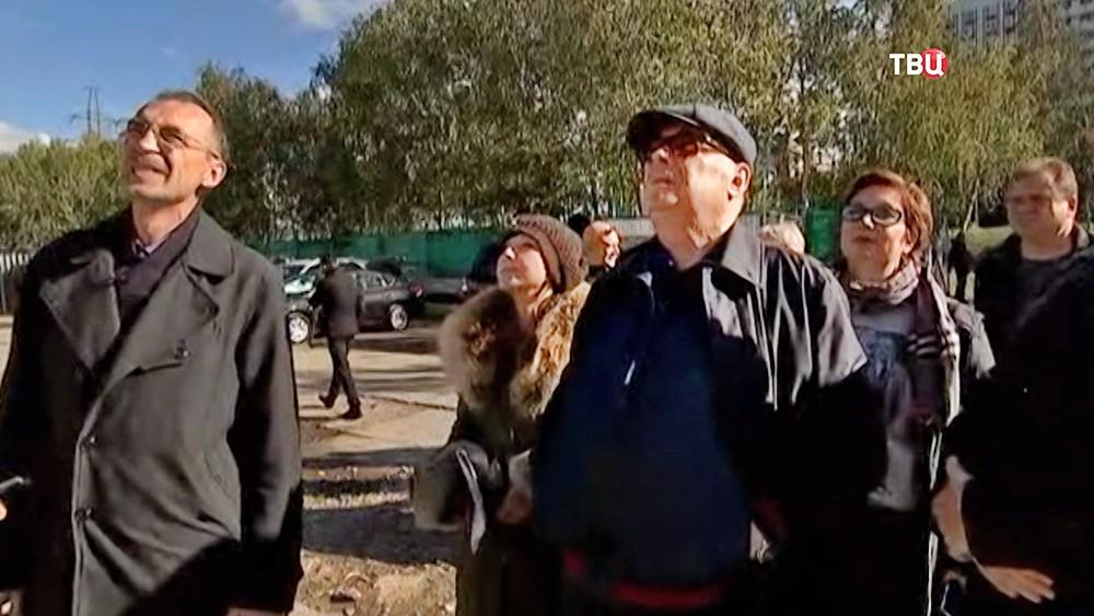 Владимир Ресин осмотрел строительство храма