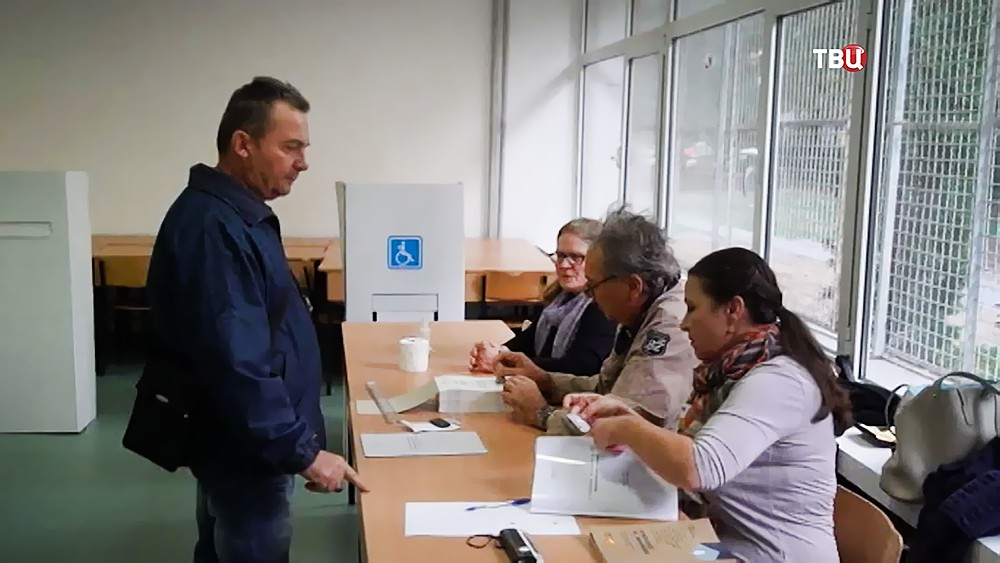 Голосование в Македонии