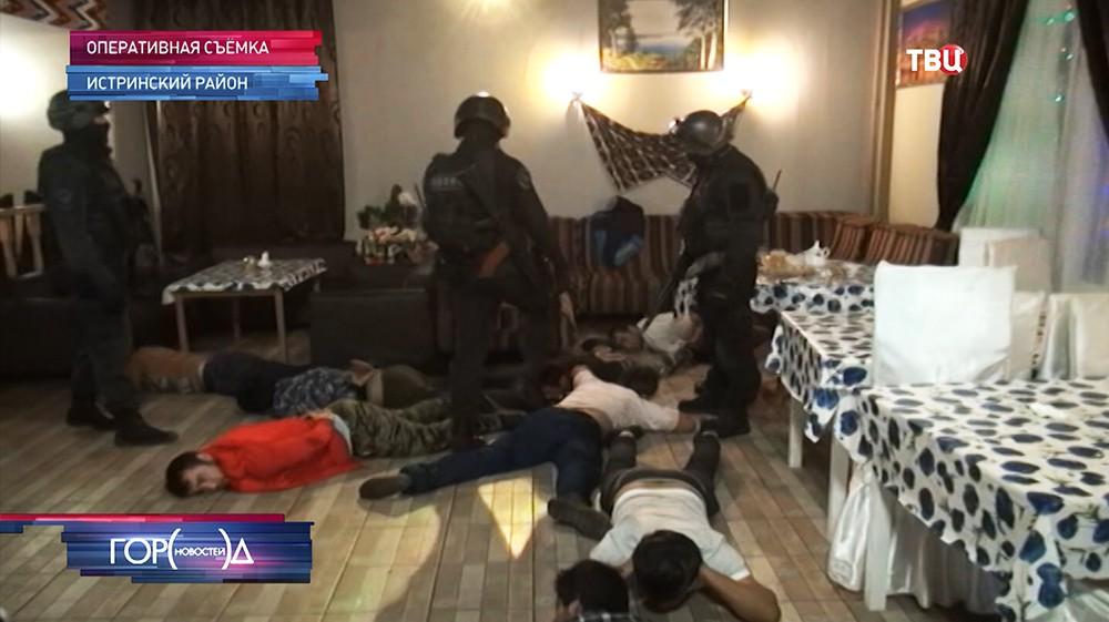 В Истринском районе пресекли сходку криминальных авторитетов