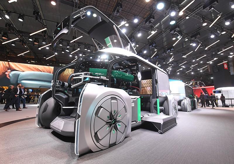 Парижский автосалон. Концепт EZ-Pro от Renault