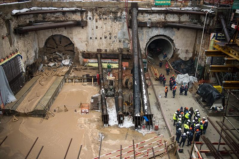Проходка тоннеля