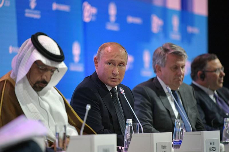 """Владимир Путин на пленарном заседании """"Устойчивая энергетика для меняющегося мира"""""""