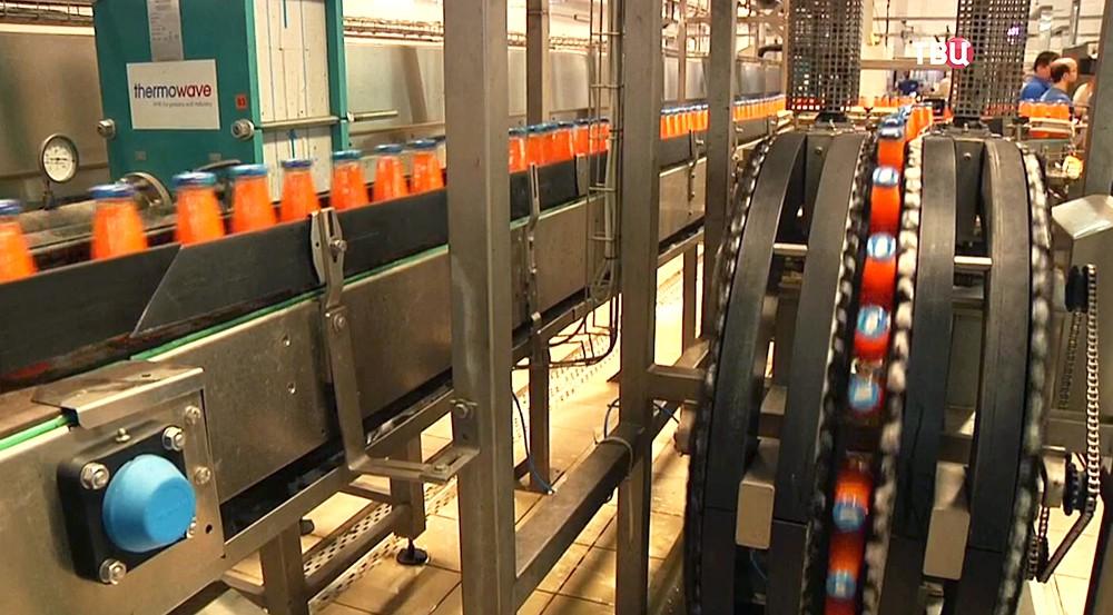 Завод по производству сока